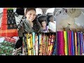 Daily vlogs   Pochampalli pattu sarees haul   Wednesday vlog