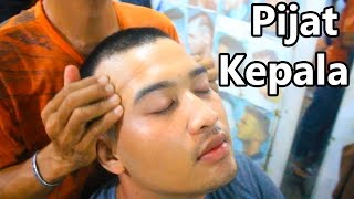 Indonesian Barber Head Massage , Pijat Kepala