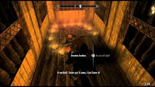 Skyrim: Talk to Aventus Aretino