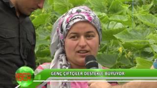Genç çiftçiler destekle büyüyor
