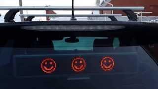 Светодиодная бегущая строка для автомобилей(Светодиодная бегущая строка для автомобилей., 2014-01-27T05:23:36.000Z)