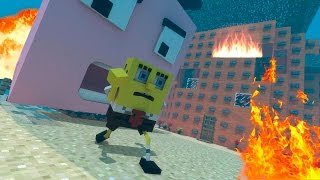 Minecraft: ATAQUE A FENDA DO BIQUÍNI - ESCOLA DE MODS!