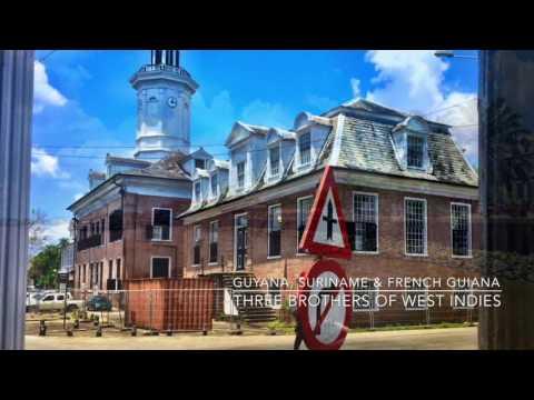 3 Guyanas (Guyana, Suriname & FR. Guiana) - Travel with H