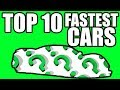 FASTEST CARS In The World Of ALL Time