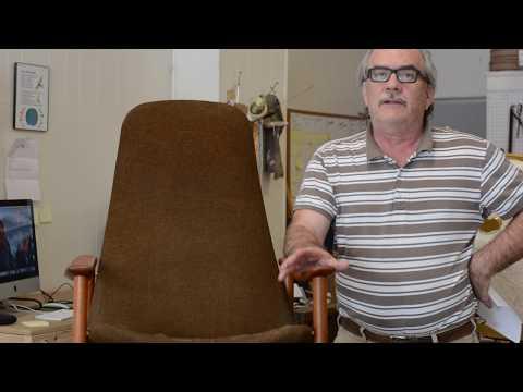 Restoring a Vintage 1950's Alf Svensson Danish Chair