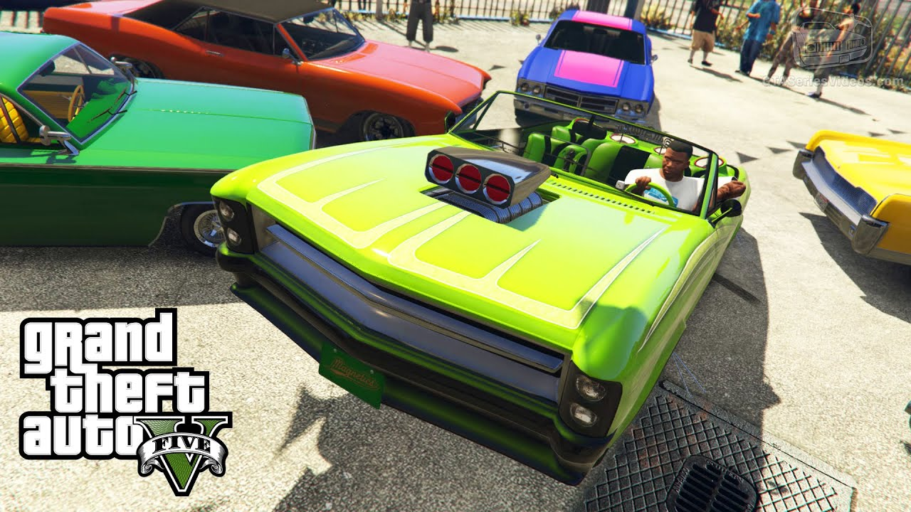 GTA 5 PC Benny s Garage in Single Player & Lowrider Challenges [Mod Showcase]