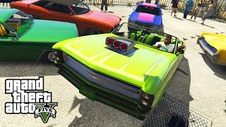 GTA 5 PC - Benny's Garage in Single Player & Lowrider Challenges [Mod Showcase]