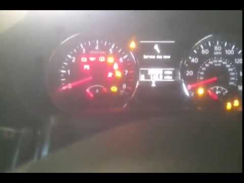 Nissan qashqai service now reset (late model) - YouTube
