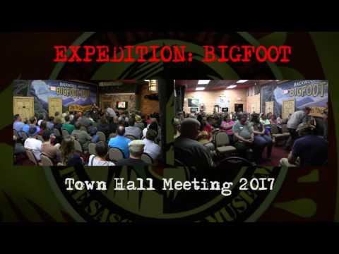 BIGFOOT Town Hall Meeting 2017