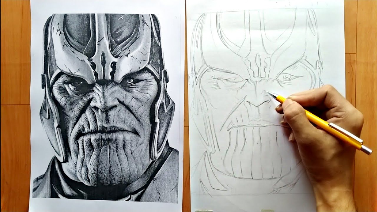 Best Method For Drawing Outlines