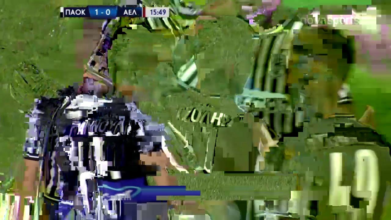 ПАОК  1-0  АЕЛ Ларисса видео