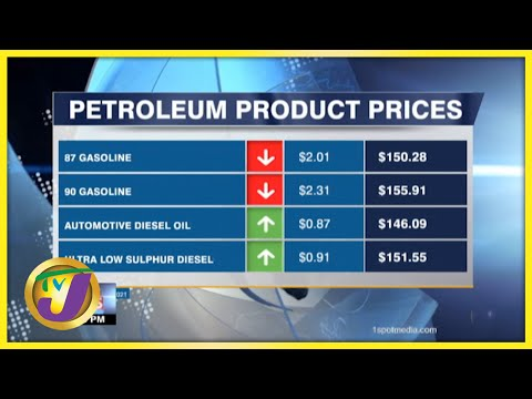 Drop in Gas Prices   TVJ Business Day - Sept 22 2021