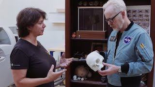 Adam Savage Explores the 3D Printing and Modelmaking Shop at Smithsonian Exhibits!