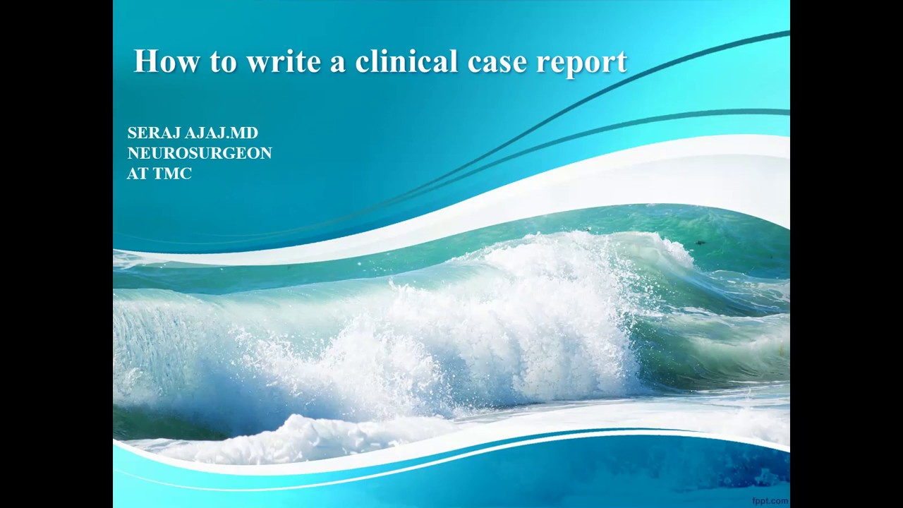writing a case report Endocrine society page 1 of 1 endo2016org guide to writing a case report abstract late-breaking abstract submission deadline: wednesday, february 17, 2016 1:00 pm et us.