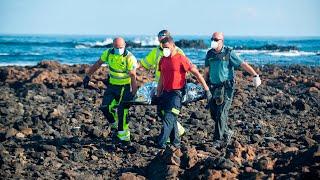 Fallecen ocho inmigrantes en el naufragio de Lanzarote