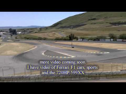 Ferrari Challenge 2011 @ Infineon part 1