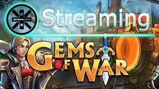 🔥 Gems of War Stream: Testing Tesla and 50% Bombots 🔥