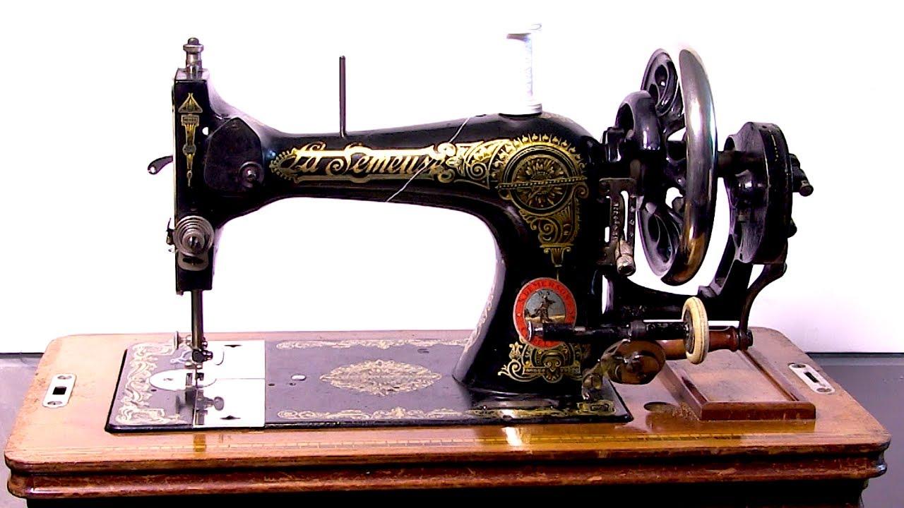 Machine A Coudre Ancienne machine à coudre vintage, le test !