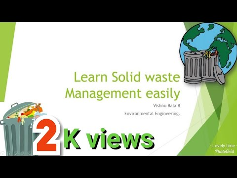 Solid Waste Management Ppt In Tamil Waste Management