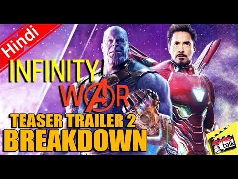 Avengers Infinity War Teaser Trailer 2 Breakdown