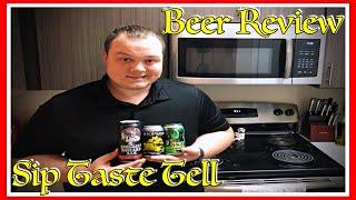Arrogant Bastard, Devil's Harvest, and Back Water Cider Beer Review on Sip Taste Tell S1 E4