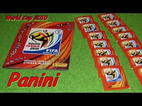 PANINI FIFA WORLD CUP South Africa 2010 STICKER ALBUM SOCCER WM Fußballweltmeisterschaft South Afric