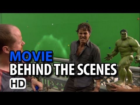 The Avengers (2012) B-Roll #1 Behind the Scenes & Making of