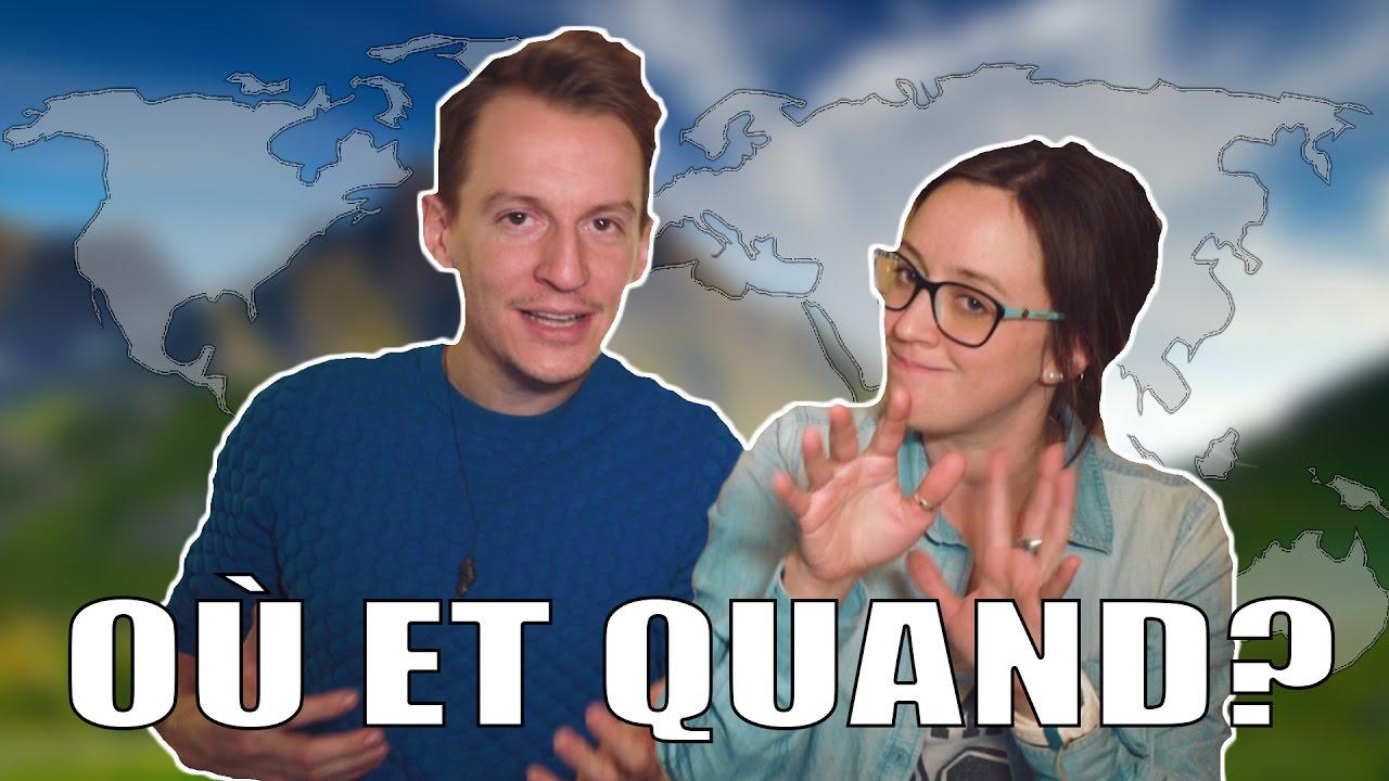 OÙ et QUAND partir ? (Comment choisir une destination de voyage) | Alex & MJ - On the GO