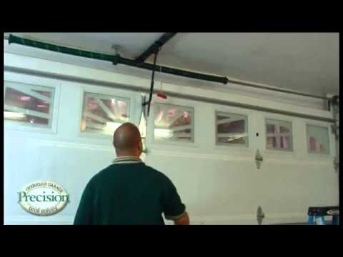 Awesome How To Open Your Garage Door Manually When There Is No Power To Operate It.    YouTube