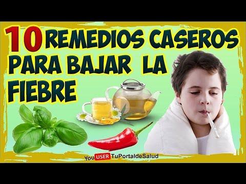 remedios para bajar la fiebre interna
