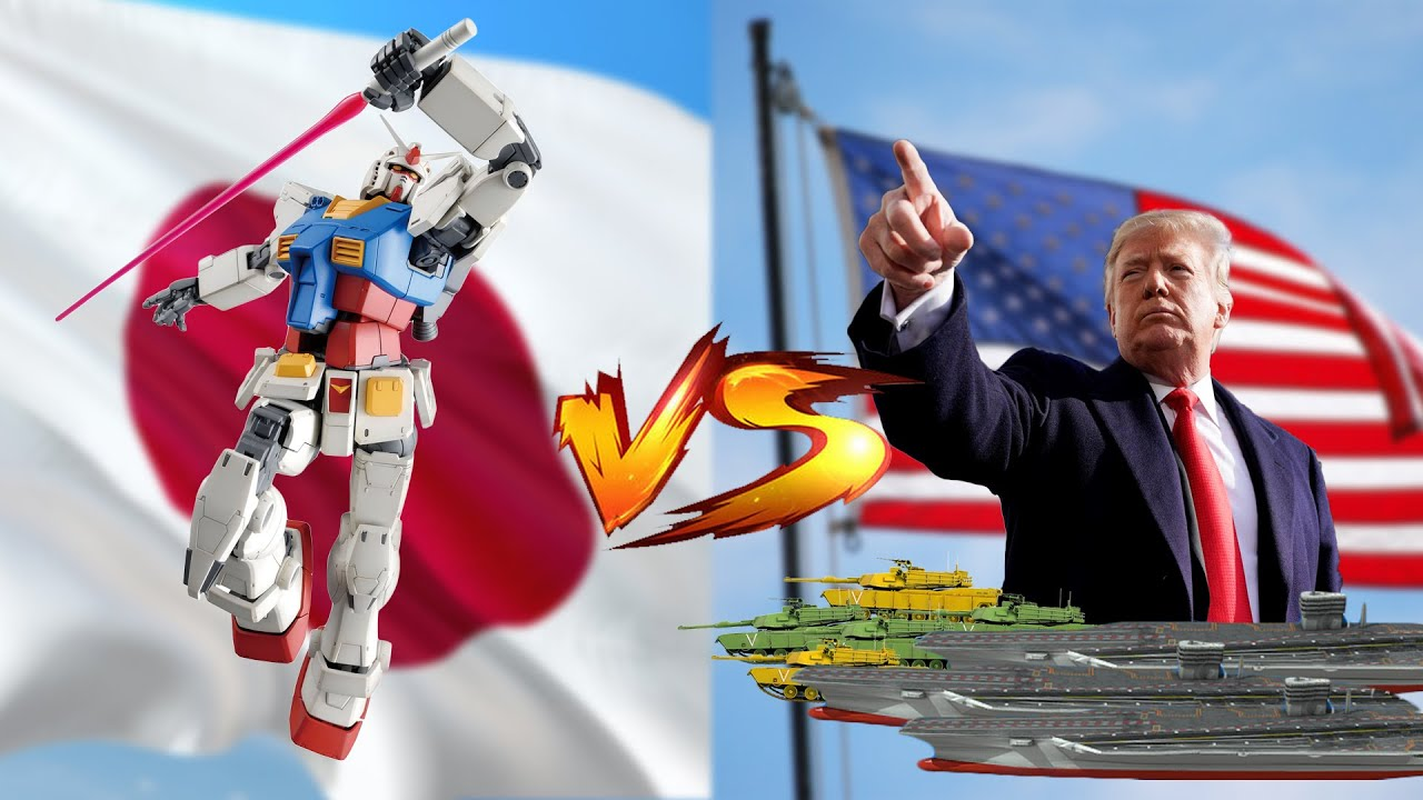 If Japan Built a Real Gundam, Could They Defeat the US Military?