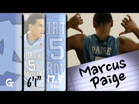 Official Highlights | North Carolina Guard Marcus Paige