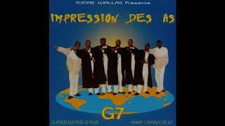 Impression des As G7: G7 CD (1997 Ndombolo Soukous) #AfricanBeats