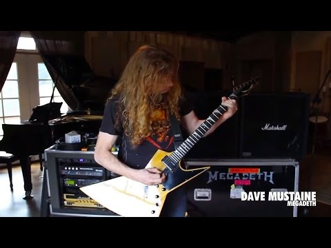 Dave Mustaine - Black Friday In The Studio 2015