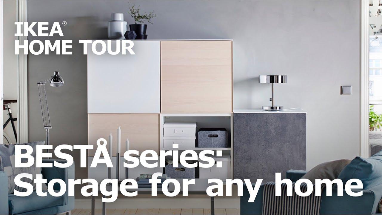 Versatility Style Ikea Bestå Storage Solutions Ikea Home Tour
