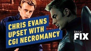 Chris Evans Is Upset With CGI Necromancy - IGN Daily Fix
