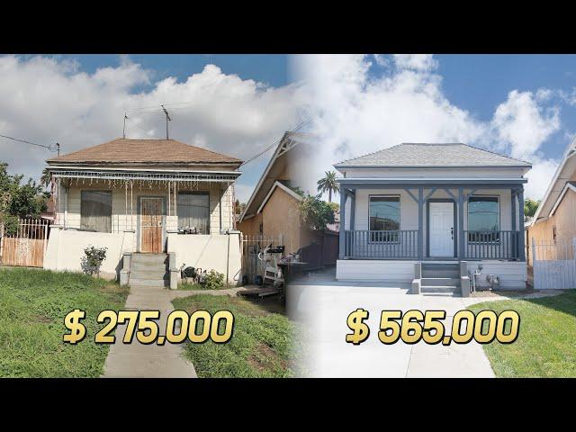 순이익 9만불 남기고 4일만에 팔린 리모델링 단독주택
