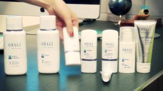 Obagi Nu-Derm - removal of pigmentations and skin rejuvenation - instructions how to apply creams