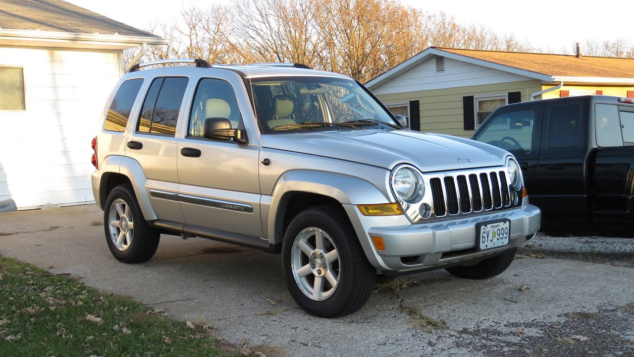 2007 Jeep Liberty Limited 3.7L | Full Tour & Start Up - YouTube