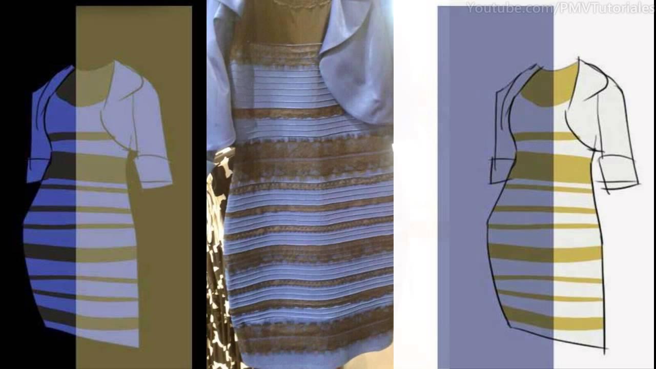Misterio Del Vestido Blanco Y Dorado Y Negro Y Azul Resuelto Thedress