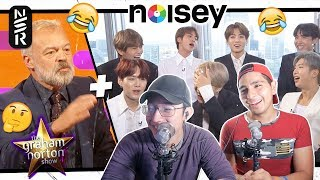 GUYS REACT TO BTS 'NOISEY + The Graham Norton Show Interviews'