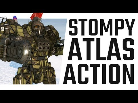 Stompy Atlas Burst Fire Action! - Mechwarrior Online The Daily Dose #604