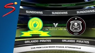 Mamelodi Sundowns vs Orlando Pirates - Nedbank Cup Quarter-Final 2016