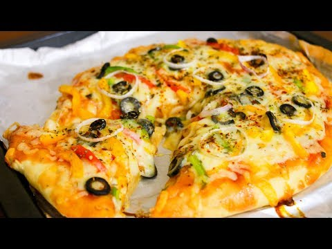 Homemade Veg Pizza Recipe