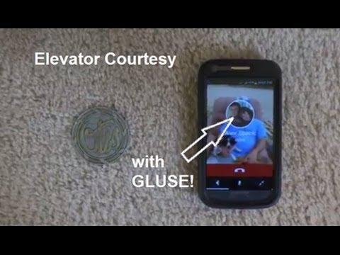 Elevator Courtesy with gluse!