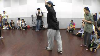 BEAT SOLDIER vs Cherry Wine BEST8 FREESTYLE SIDE / RUN UP! × ばとる☆マギカ vol.2