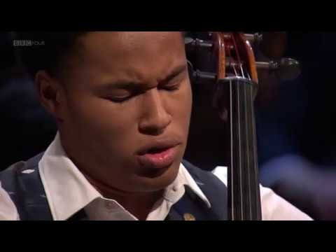 Sheku Kanneh-Mason plays 4th Mvt - Elgar Cello Concerto at BBC Young Musician 2018