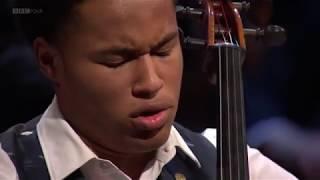 Sheku Kanneh-Mason plays 4th Mvt - Elgar Cello Concerto at BBC Young Musician 2018