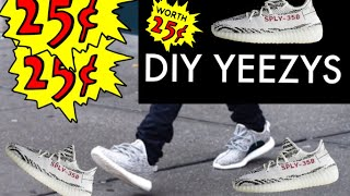 diy yeezys p1 only 025