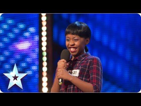 Asanda Jezile the 11yr old diva sings 'Diamonds' - Week 3 Auditions   Britain's Got Talent 2013